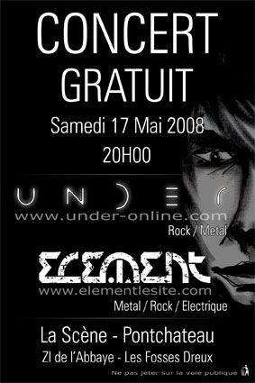 Soirée Rock Metal @ PONTCHATEAU